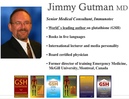 Dr Jimmy Gutman Credentials