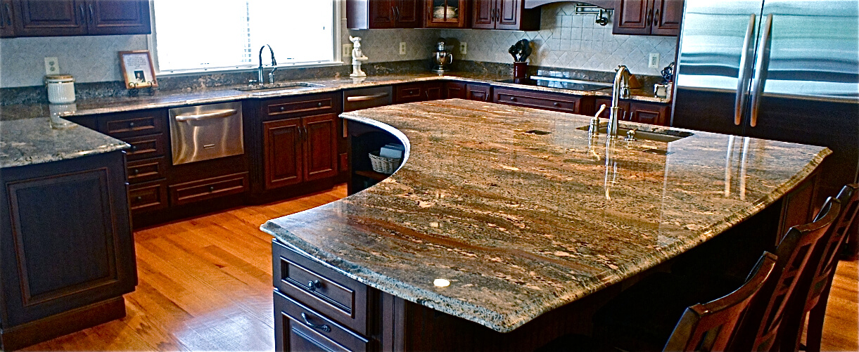 How much does the average granite countertop cost